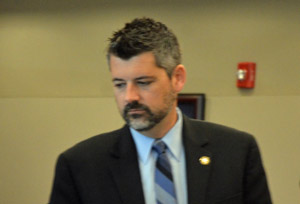 Assistant State Attorney Joe LeDonne was prosecuting his first criminal trial in Flagler this week, though he's prosecuted many more elsewhere. (© FlaglerLive)
