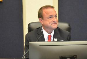 County Commissioner Joe Mullins. (© FlaglerLive)