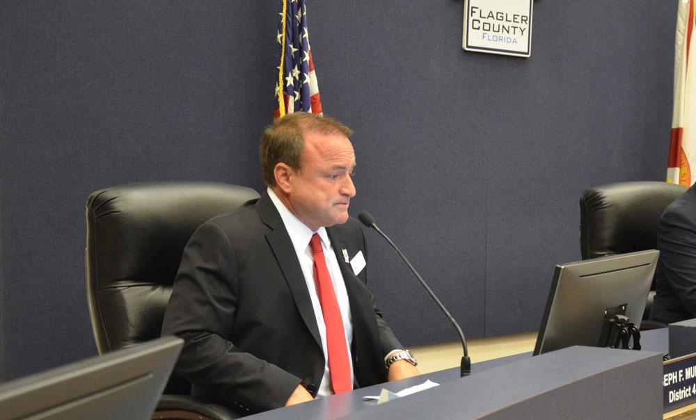 Commissioner Joe Mullins. (© FlaglerLive)