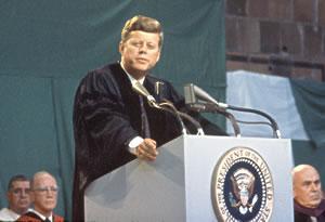 John F. Kennedy at Amherst