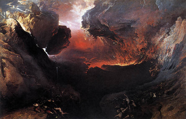John Martin, 'The Great Day of His Wrath,' 1851-53.