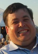 John Seth, all smiles. (© FlaglerLive)