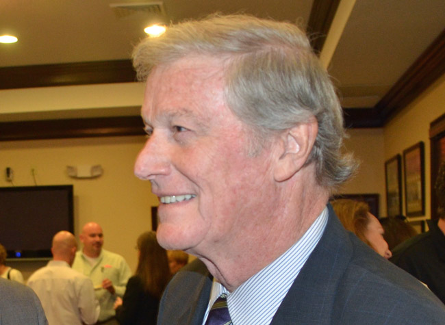 John Thrasher has moved from calling for a moratorium on Internet cafes to calling for their outright shut-down. (© FlaglerLive)