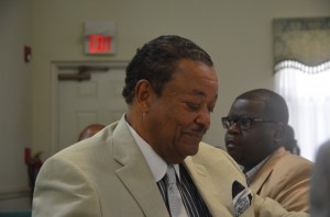 John Winston, president of the African-American Mentor Program for the past seven years, has been the program's lifeblood, but he says he is ready to step down. (c FlaglerLive)