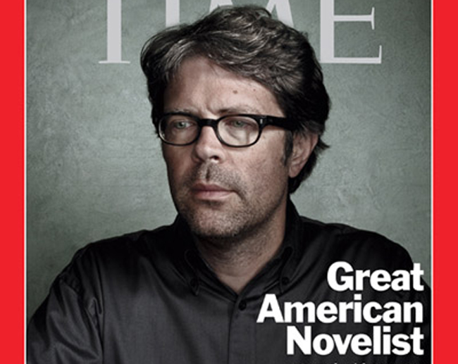 jonathan Franzen at Stetson university