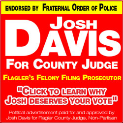 josh davis flagler county judge elections 2012