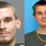 Joshua LeMaster in a Department of Corrections mugshot, right, and in a more recent county jail shot.