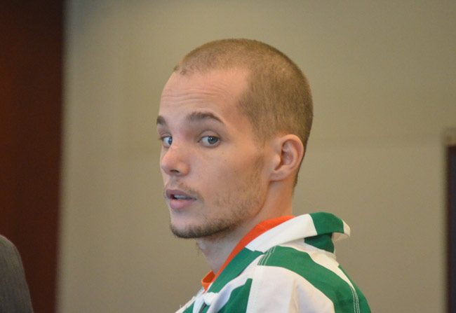 Joseph Bova in a previous court appearance. (© FlaglerLive)
