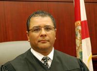 Circuit Judge Raul Zambrano. (© FlaglerLive)