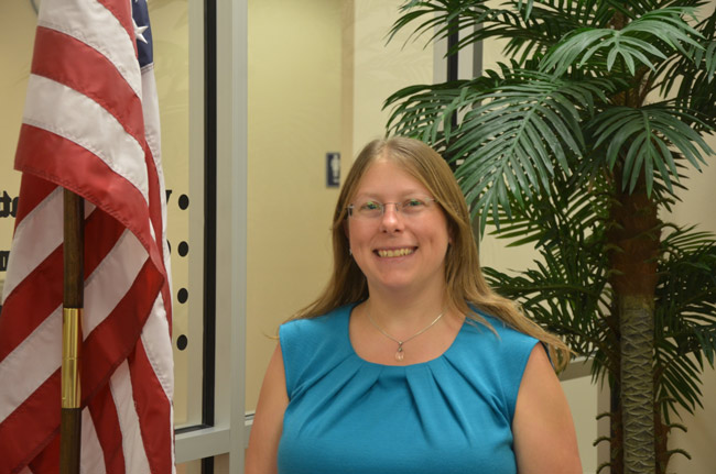 'The integrity of your voting system is my highest priority,' says Kaiti Lenhart, Flagler County's Supervisor of Elections.
