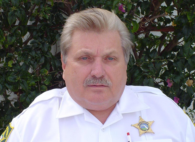 karl tozzi flagler county sheriff candidate elections 2012