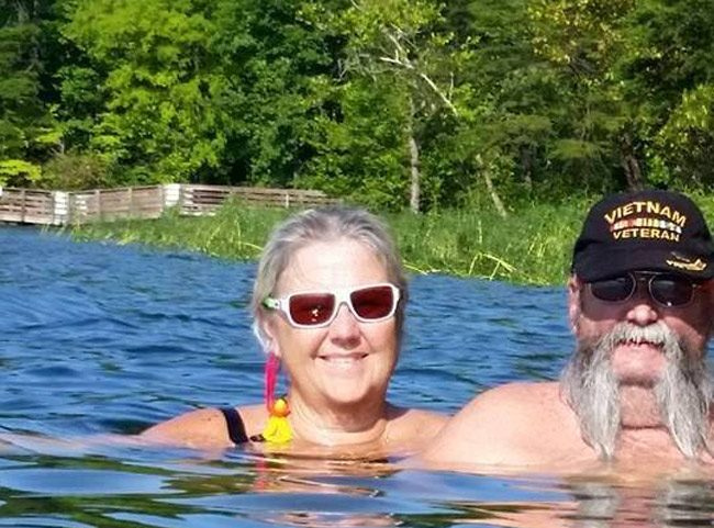 Sharon Keeler lost her husband Karl to a vehicle crash earlier this month. Over the weekend, Sharon committed suicide at her Flagler Beach home. (Facebook)