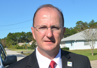 Flagler County Emergency Services Director Kevin Guthrie. (© FlaglerLive)