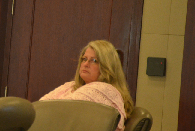 Kimberle Weeks's lawyers have been as if channeling her outlier predilections into their legal arguments to the jury. Closing arguments are Thursday. (c FlaglerLive)