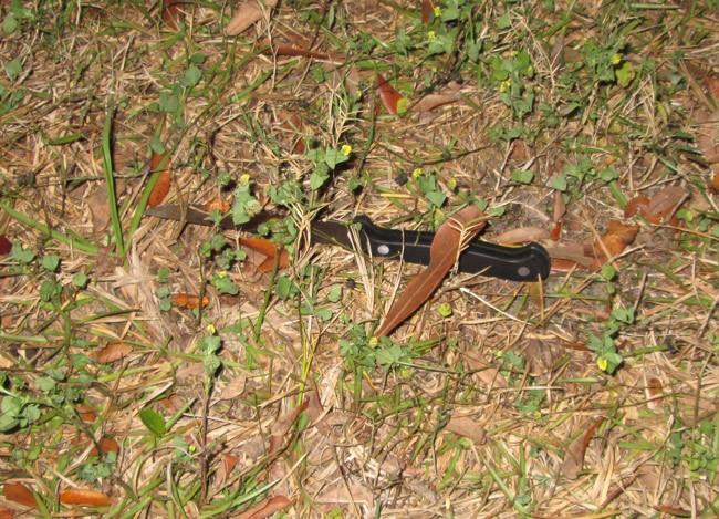 knife assailant sheriff's deputy