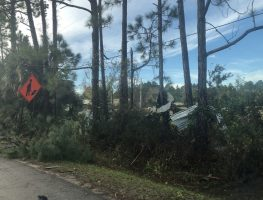 Damage in the Korona area. (Frank Angelillo)