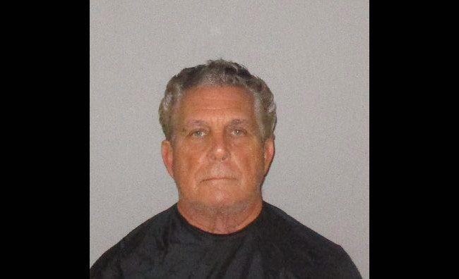Larry Cavallaro at the Flagler County jail.