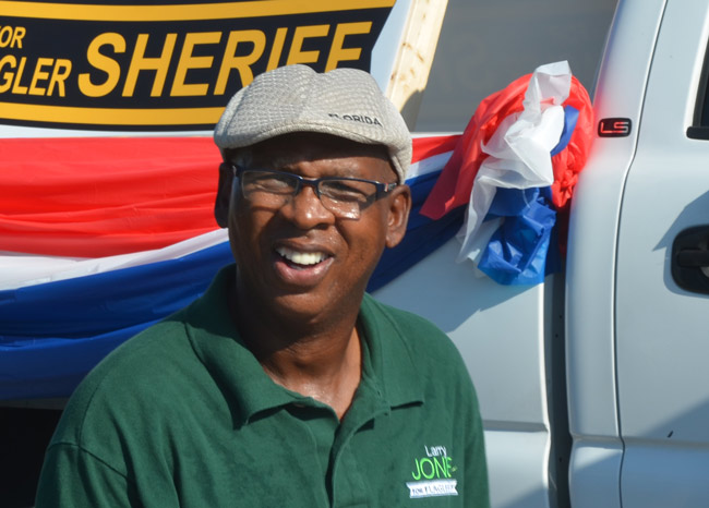sgt larry jones sheriff candidate flagler