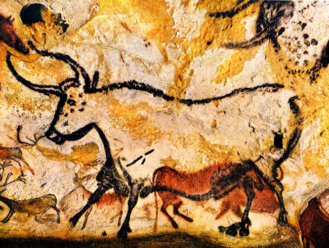 From the magical walls of Lascaux.