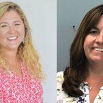 Lauren Johnston, left, and Denise Bevan. (Palm Coast)