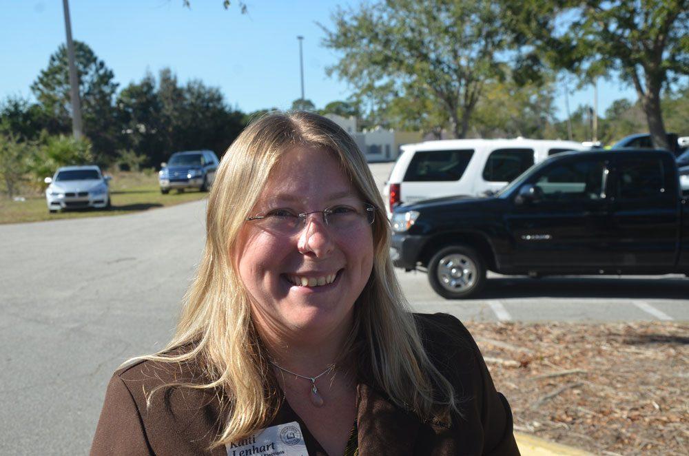 Flagler County Supervisor of Elections Kaiti Lenhart is the featured speaker