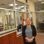 Flagler County Elections Supervisor Kaiti Lenhart at her office this week. (© FlaglerLive)