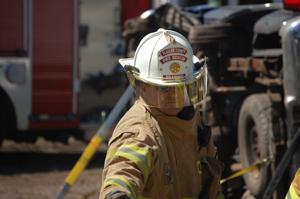 Flagler County Training Chief Lenny Ensalaco (© FlaglerLive)