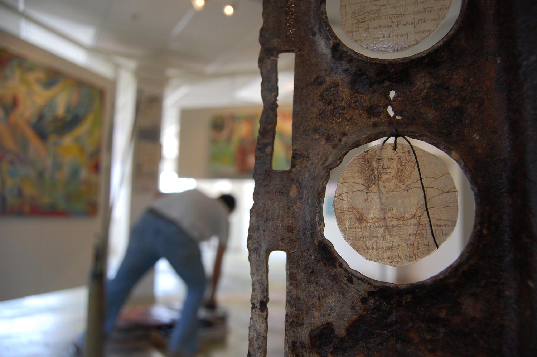 Kathy Omeara's leonardo ephemera hollingsworth gallery
