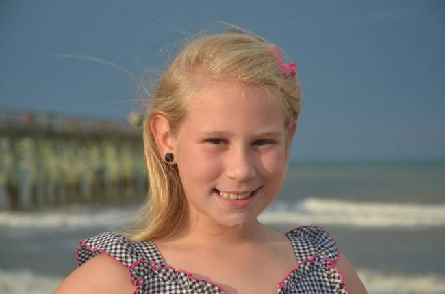 2013 Little Miss Flagler County Pageant Contestants, Age 8
