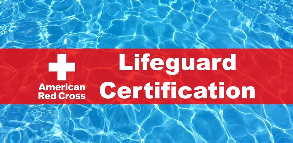 American Red Cross Lifeguard Certification Class | Calendar