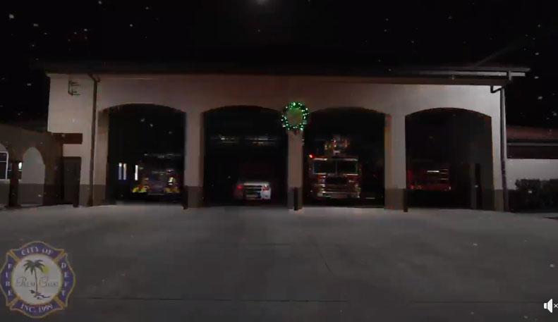 palm coast fire station show