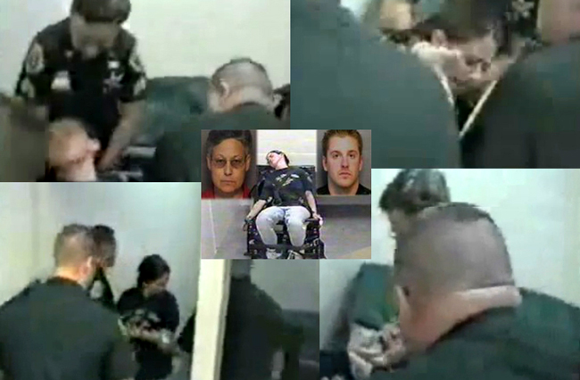 lisa tanner flagler county sheriff jail guards brutality march 2005