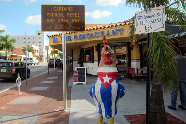 Little Havana may tip Florida's electoral college, but not in the direction Republicans are hoping for. (Wallyg)
