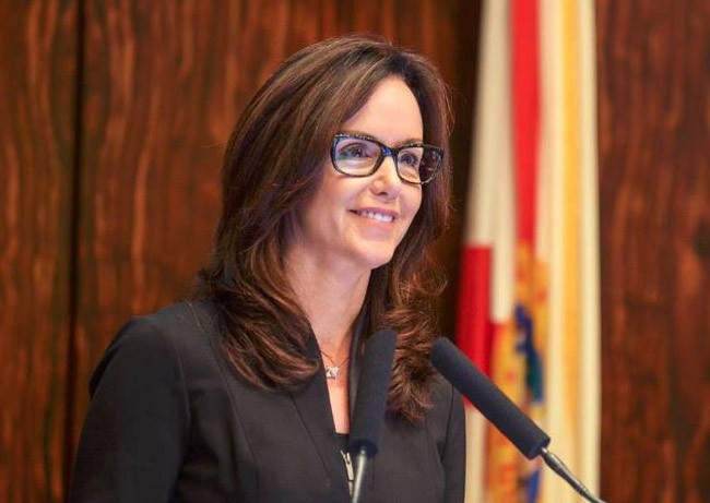 Sen. Lizbeth Benacquisto,  the Fort Myers Republican, is  behind the bill that would revamp school choice in Florida. (Facebook)