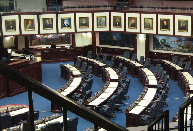 In every lobbyist's scope: The Florida Legislature. (J.C. Clark)