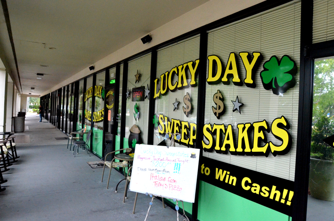 lucky day sweepstakes gambling hall A favorite hang-out for the Medicare set at the Winn Dixie shopping center on SR100 in Palm Coast. (© FlaglerLive)