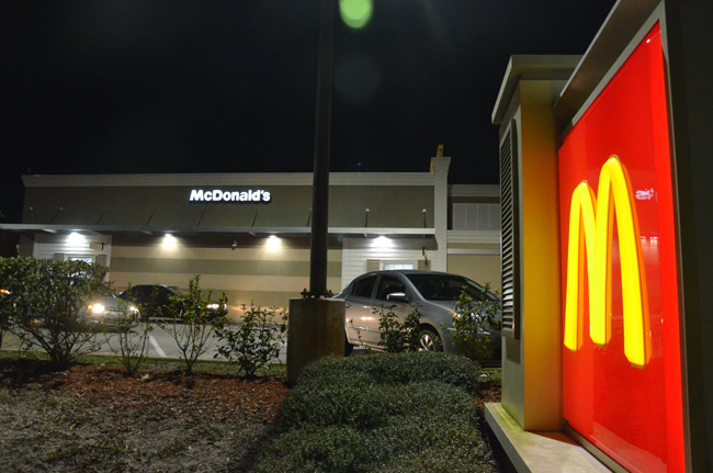 The McDonald's at Town Center. (© FlaglerLive)