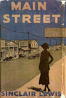 main street sinclair lewis original cover art