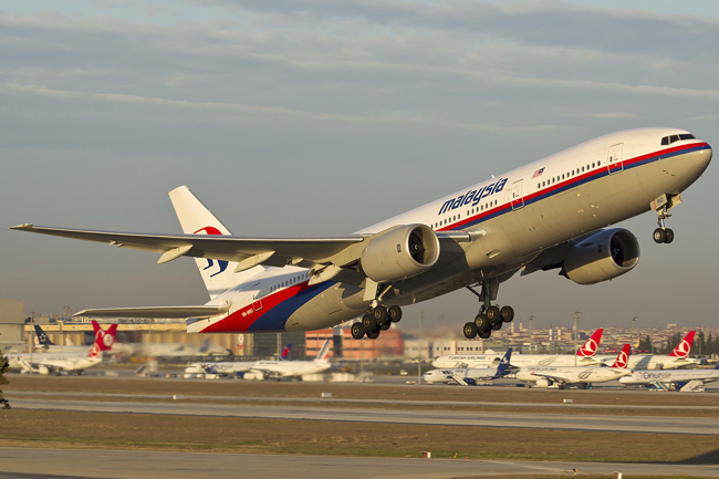 malaysia airlines flight 370 boeing 777