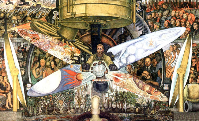 Diego rivera palace of fine arts for Diego rivera lenin mural
