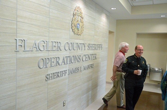 flagler sheriff operations center open house