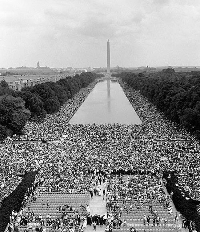 Sunday is the 53rd anniversary of the March on Washington, on Aug. 28, 1963, where Martin Luther King Jr. delivered his I Have a Dream speech. (Wikimedia Commons)