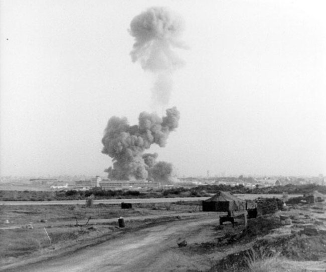 The French and U.S. Marines' barracks in Beirut were the targets of twin terrorist attacks by what became known as Hezbollah, on this date in 1983. Two hundred and forty Marines were killed, as were 58 French soldiers. (Marines)[