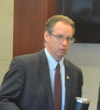 Assistant State Attorney Mark Johnson. (© FlaglerLive)