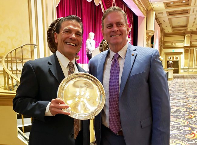 Mark Weinberg, Court Administrator of the Seventh Judicial Circuit, received the 2019 Award of Merit from the National Association for Court Management (NACM).