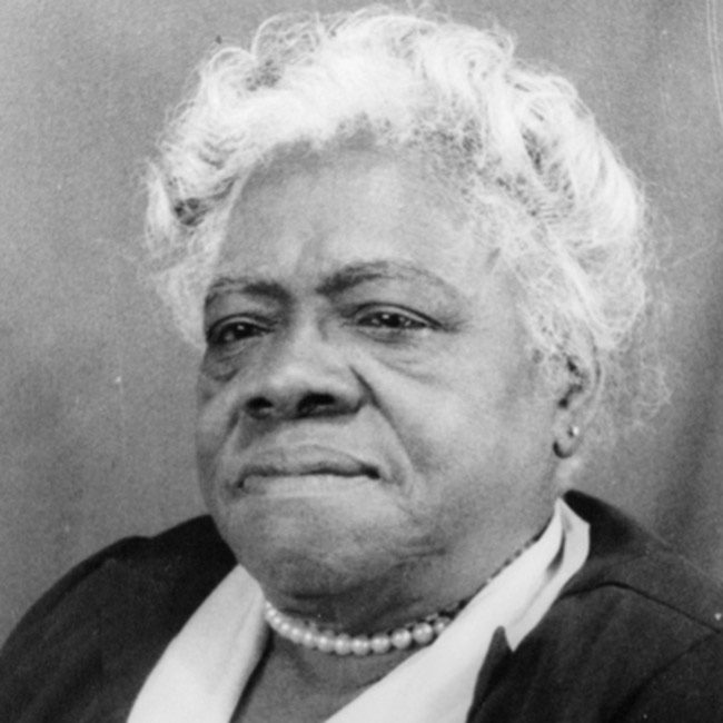 Mary McLeod Bethune rules.