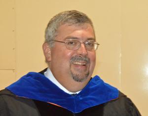 Matanzas High School Principal Chris Pryor. (© FlaglerLive)