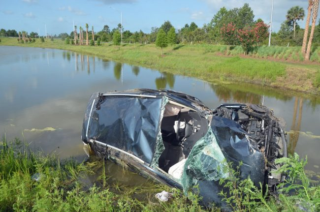 matanzas woods wreck crash nissan rogue