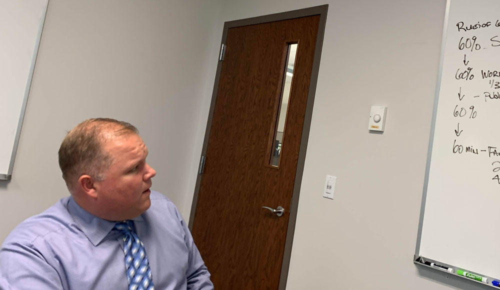 Palm Coast City Manager Matt Morton likes his decisions driven by data. (© FlaglerLive)