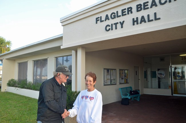rick belhumeur jane mealy flagler beach city commission